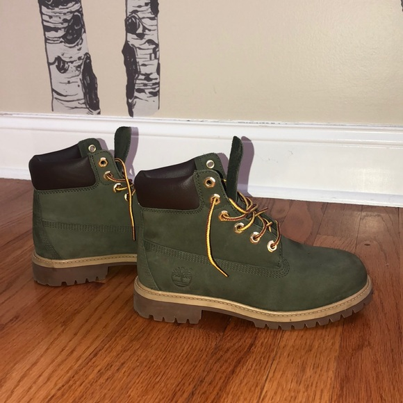 Timberland Shoes | Army Green Kids